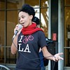 Protest At Beverly Hills Courthouse Of The Sentancing Of Celine Mahdavi, And Launch Of Life Before License Campaign