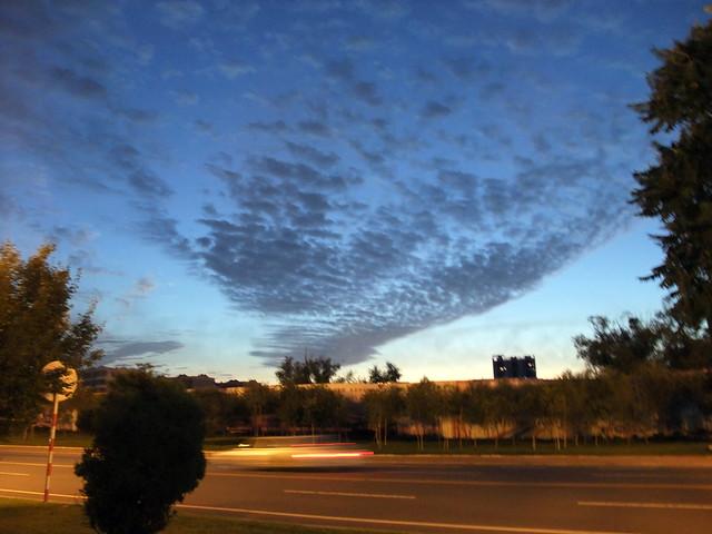 奇异的云彩