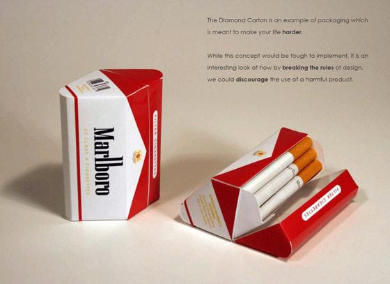 empaque de cigarros