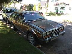 wood brown car station wagon eagle 80s amc lethbridge