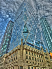 tron effect - hearst tower