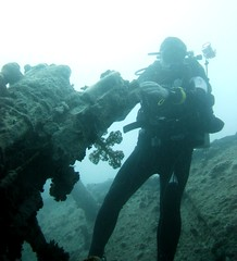 gunner (terry.1953) Tags: sea ship underwater redsea scuba diving shipwreck wreck thistlegorm swcubadiving