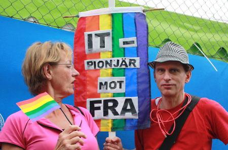 Schyman vs. Swartz @ Stockholm Pride 2008