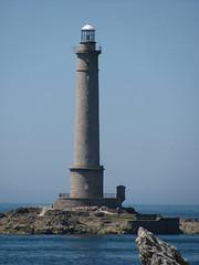 Cap de la Hague (Priska B.) Tags: light lighthouse de la frankreich meer cap normandie blau leuchtturm leuchtfeuer hauge wbnawfr capdelahauge