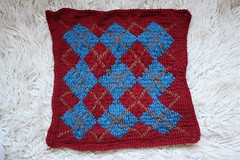 Small-Multiple Argyle Panel - Front