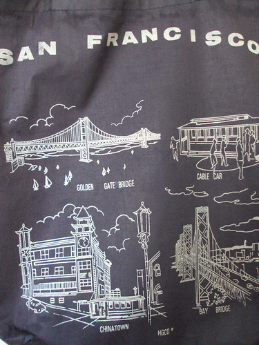 San Fran Tote Close Up