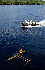 50007907 (wolfgangkaehler) Tags: woman man men tourism women tourist tourists zodiac outrigger oceania solomonislands outriggercanoe nativeboy touristactivity treasuryisland zodiacexcursion touristexcursionboat treasuryislandgroup nativeislander