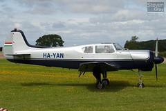 HA-YAN - 10-34 - Private - Yakovlev Yak-18T (Yak-18)  - Little Gransden - 100829 - Steven Gray - IMG_3311