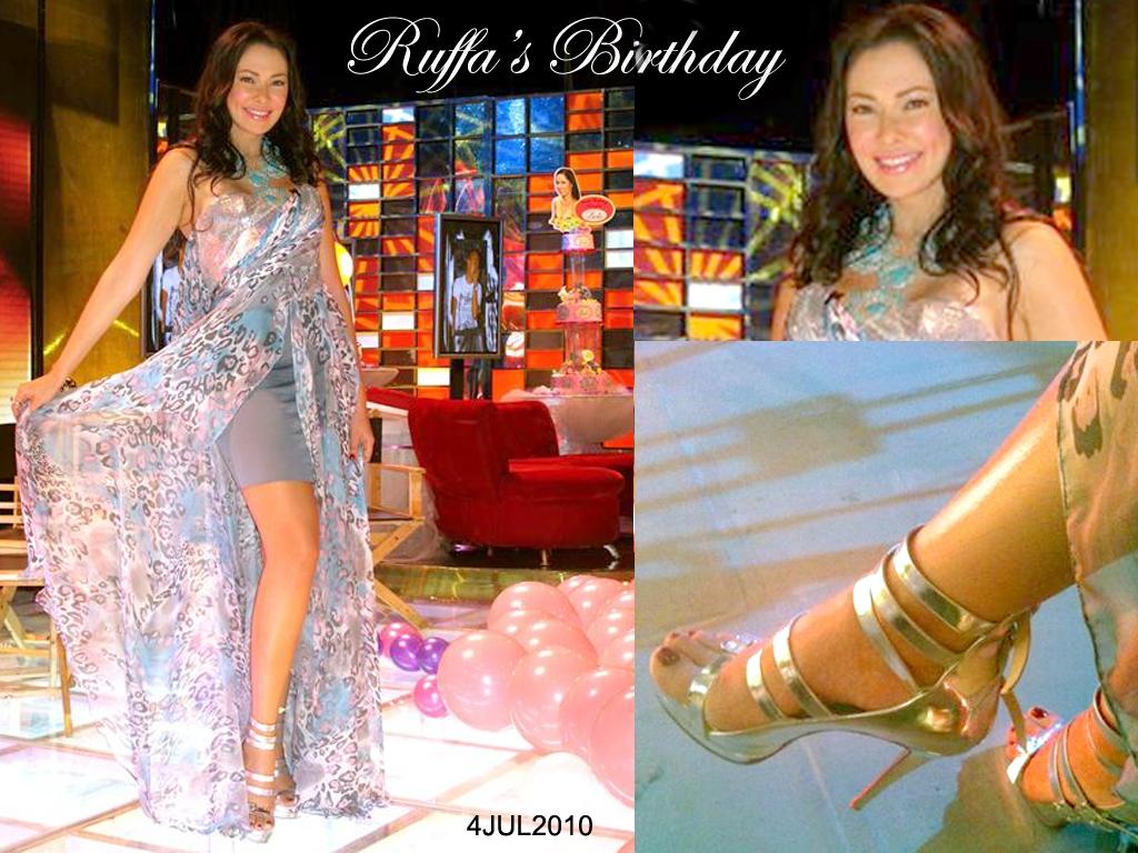 Ruffa's Birthday - Paparazzi TV Host July 4, 2010