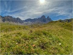 Alpages de Montrond au début septembre