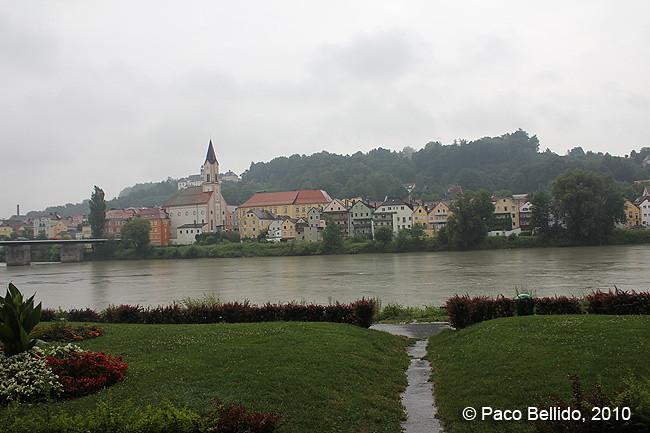 El río Inn en Passau © Paco Bellido
