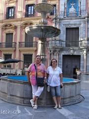 Begoña y yo en Málaga