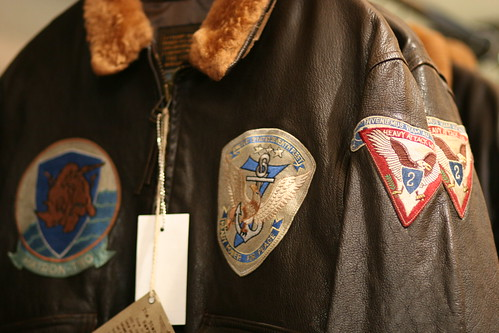 Cockpit G-1 flight jacket - Made in USA