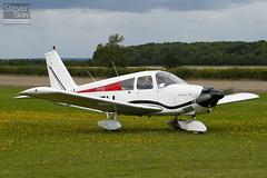 G-ZZIJ - 28-3639 - Private - Piper PA-28-180 Cherokee C - Little Gransden - 100829 - Steven Gray - IMG_3416