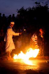 Kecak   Preparing The Fire To Burnt Hanuman (novriwahyuperdana) Tags: bali indonesia asia southeastasia uluwatu kecakdance balinesedance canonef70300mmisusm indonesiandance canoneos50d uluwatuluhurtemple