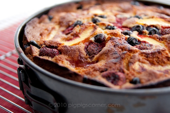 Fruit pastry cake 3