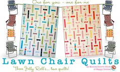 Lawn Chair/UPS quilts (Happy Zombie) Tags: pattern sweet sewing moda quilting tutorial honeybun urbanchicks modabakeshop modabellasolid