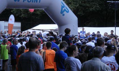 Start der Läufer beim 9. Berliner Firmenlauf