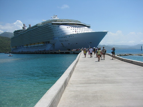 Oasis of the Seas docked in Cozemel, Mexico