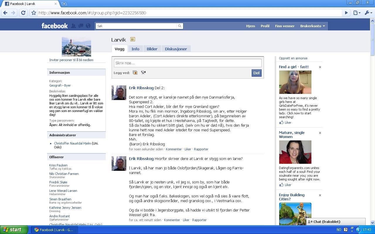 larvik facebook