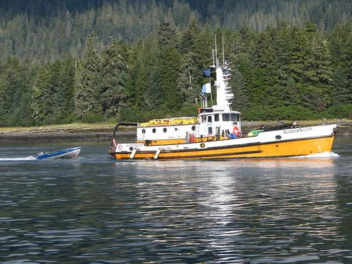 Salvage boat Petersburg