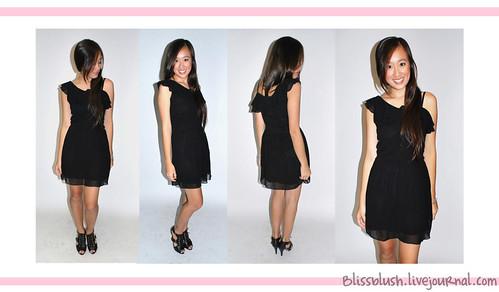 Black Toga Dress