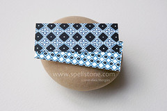 Blue moo two (Spellstone) Tags: blue art illustration print design nikon artist folkart pattern drawing indigo surfacedesign nikond70s moo pebble textile fabric cotton dye textiledesign northafrican patterndesign indigoblue khamsa naturaldye fabricdesign moominicard alexmorgan spellstone ancientblue fabriccollections indigoleaf vashmaindigo printedbymoo