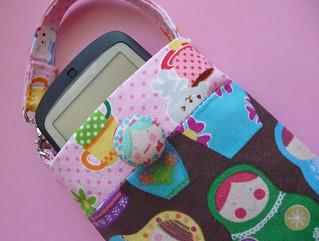 Kawaii cell phone pouch tutorial