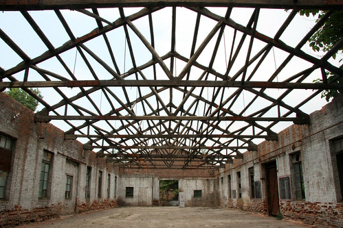Abandoned factory ground, Pingyao, China