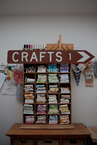 This way to the craft...
