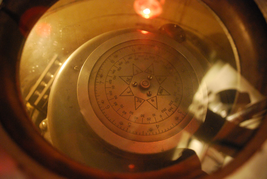 USS Cod Control Compass