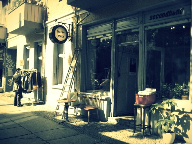 Berlin secondhand shop Trash Schick_phixr
