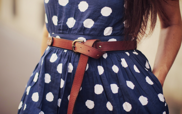 polka dots dress 06