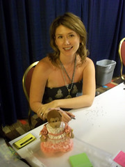 Jewel Staite and foofarawed Timmy