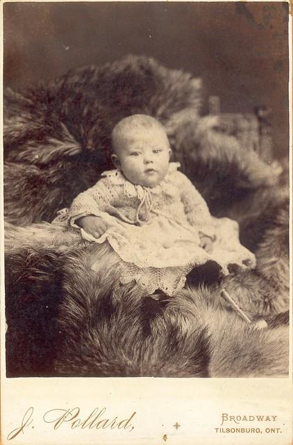 Lorne Ferguson by Pollard of Tilsonburg, ON - Cabinet Card