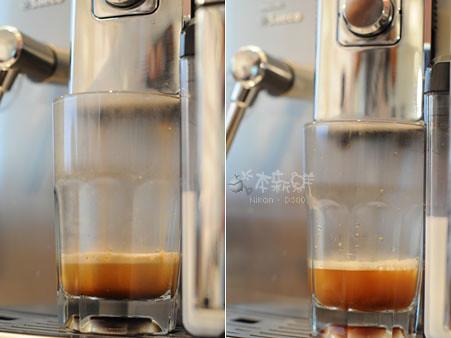 不同咖啡流速所產生的crema大有不同
