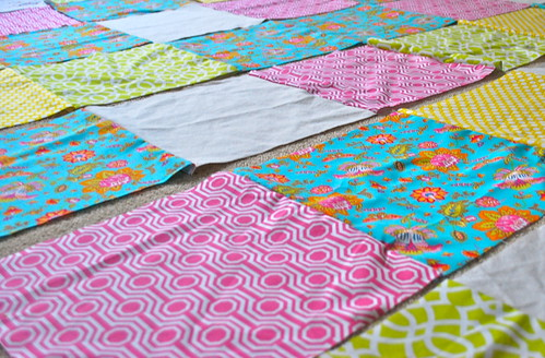 Quilt in the making