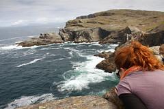 Cliffside (Scriblerus) Tags: ocean ireland landscape cliffs m coastal connemara mayo republicofireland inishturk