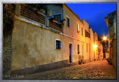 via Sant'Ignazio (Argipao) Tags: sardegna turismo notte notturno santignazio laconi argipao