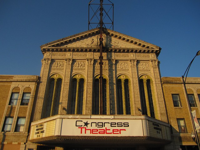 Congress Theater in Daylight