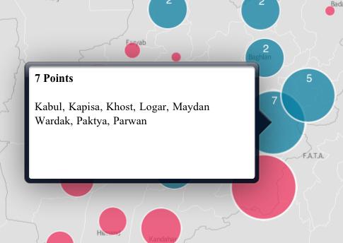 Context popups on the MapBox iPad App