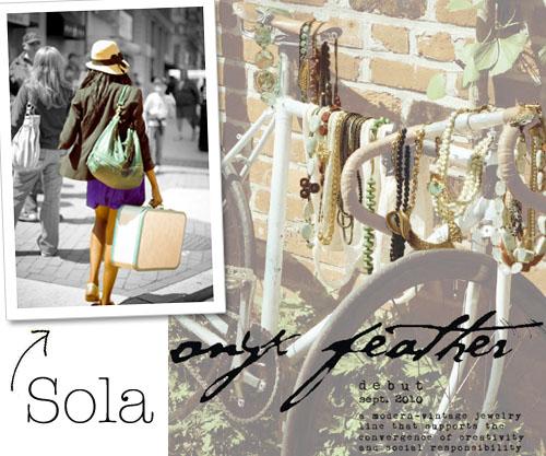 Sola- onyx feather