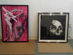 Tom French - TBC 2 [left] and Skull 2 [right]