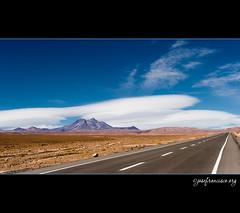 Lenticular Clouds over the Atacama Desert (josefrancisco.salgado) Tags: chile road sky cloud clouds nikon carretera cielo nubes nikkor lenticular cl nube sanpedrodeatacama orographic repblicadechile reservanacionallosflamencos republicofchile d3s 2470mmf28g iiregindeantofagasta orogrfica provinciadeelloa