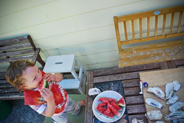 summer scrapbook :: late summer at home...