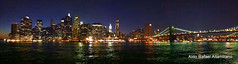 iPhone panoramic (Rafakoy) Tags: city bridge newyork water brooklyn night river dark lowlight manhattan pano panoramic late nite iphone aldorafaelaltamirano rafaelaltamirano aldoraltamirano
