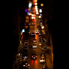 gemmayzeh flame (ion-bogdan dumitrescu) Tags: lebanon night lights traffic beirut bitzi tiltandshift ibdp gettyvacation2010 gemmayzehstreet mg63196323 ibdpro wwwibdpro ionbogdandumitrescuphotography