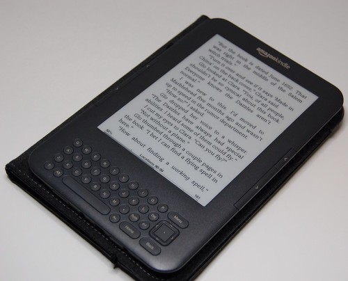 Kindle in cover