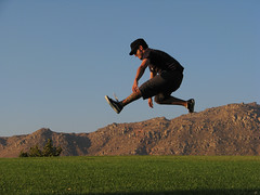 Niko (Boris Forero) Tags: california sunset atardecer jump riverside salto tatoo tatuaje morenovalley