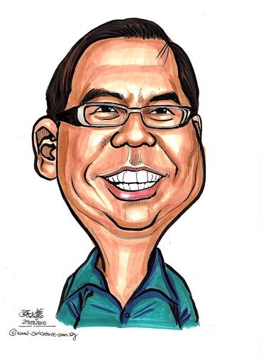 Caricature for Red Cross - 3